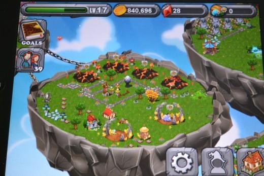 Our main Dragonvale island