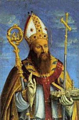 Sveti Duje, patron saint of Split.  Presumed to be the first bishop of Solin in ancient times, he was was tortured and killed by the Roman Emperor Dioklecijan in 304.  One year later, the emperor stepped down, a historical precedent.