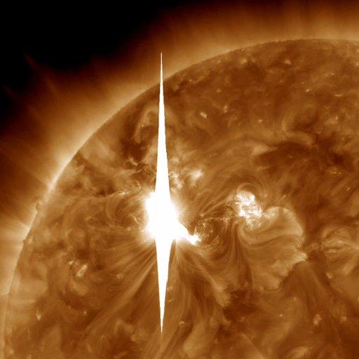 Reality:  NASA Solar Flare on 3/08/2012