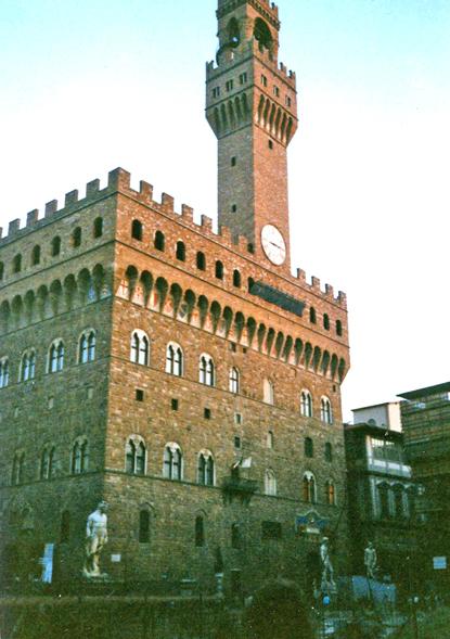 The Uffizi, Florence