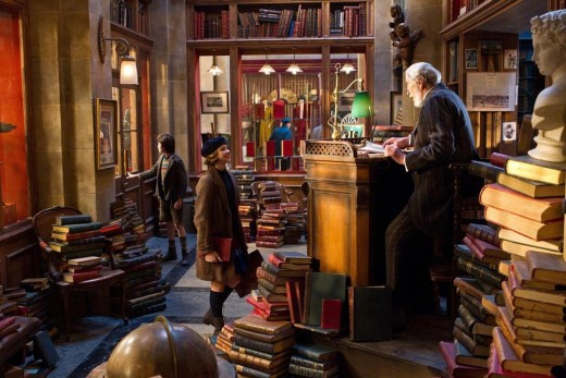 "THE BOOKSTORE IN THE MOVIE ""HUGO"""
