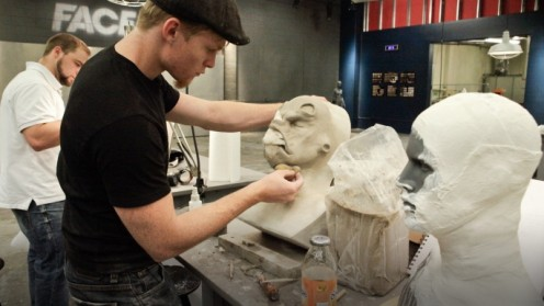 Ian sculpting