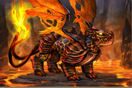 fire dragon dragons of atlantis