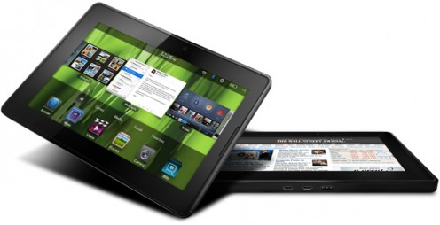 The BlackBerry PlayBook offers 16 GB of storage space and an HDMI output.