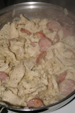 Chicken and Savoury Sausage Medly- Flashback Recipe
