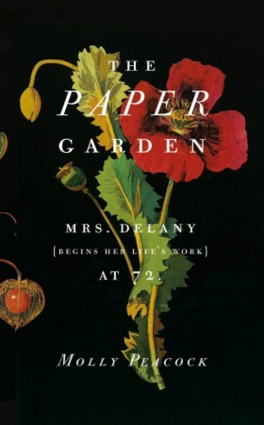 "Book cover, ""The Paper Garden"" by Molly Peacock"