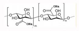 structure of sodium alginate