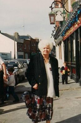 My grandmother in Dublin