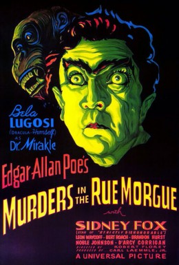Murders in the Rue Morgue (1932) poster