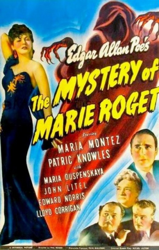 The Mystery of Marie Roget (1942) poster
