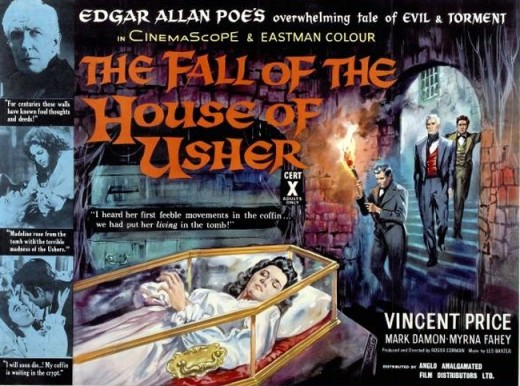 House of Usher (1960) UK poster