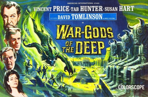 War-Gods of the Deep (1965) poster