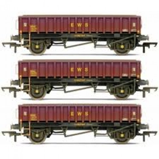 'Coalfish' wagons in EWS livery