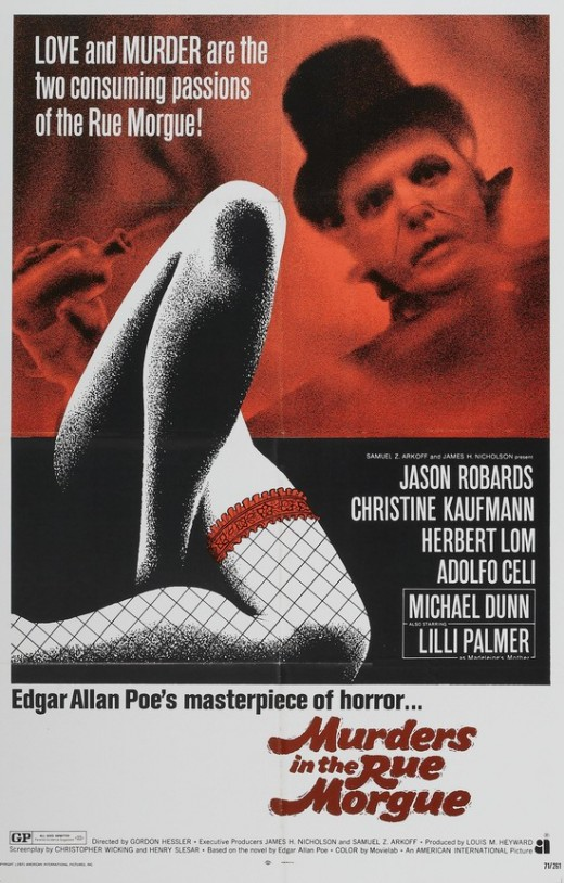 Murders in the Rue Morgue (1971) poster
