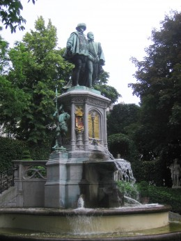 Statue of Counts Egmont and Horn, Brussels
