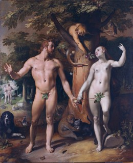 The Fall of Man by Cornelis Van Haarlem (1592)