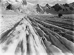 Cima Di Rosa Glacier