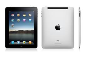The attractive new iPad's design is available in two colors, black and white