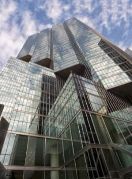 New York building.