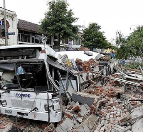 Christchurch NZ Earthquake.