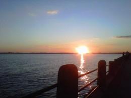 Sunset on the Charleston Battery