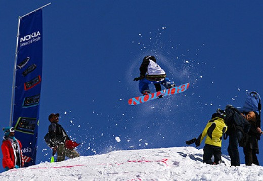 Ski area near Tehran