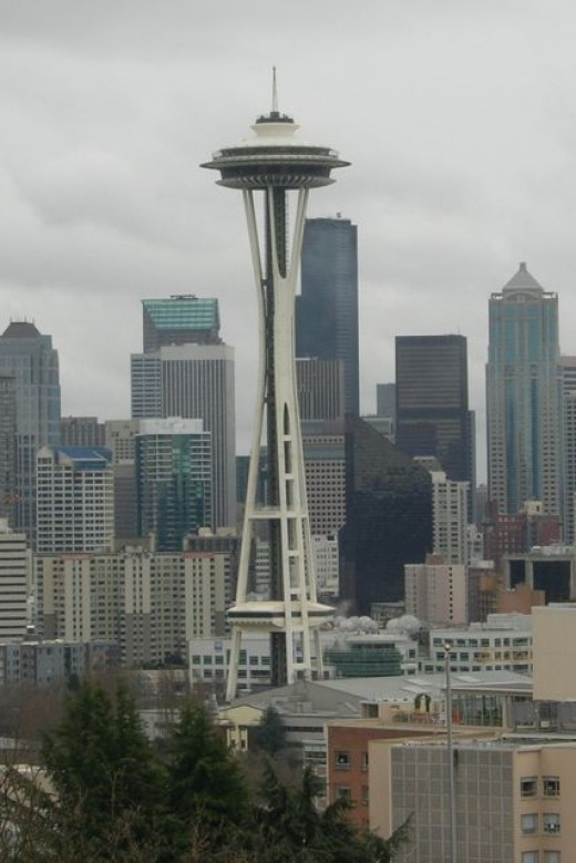 The Space Needle in Seattle Center