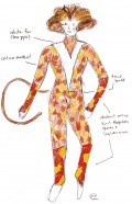 Costume Design for Demeter (San Diego Junior Theatre, Cats 2008. Designer: Walter Allen)