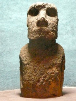 An Easter Island Statue