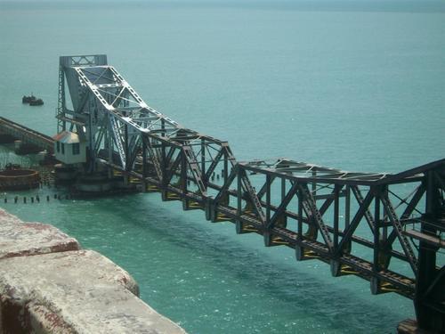 The Pamban Bridge