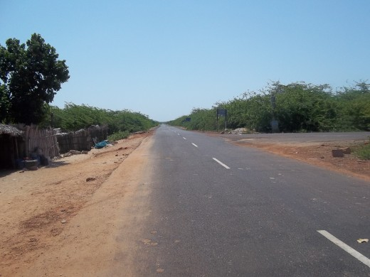 The Road Ends At The Check Post