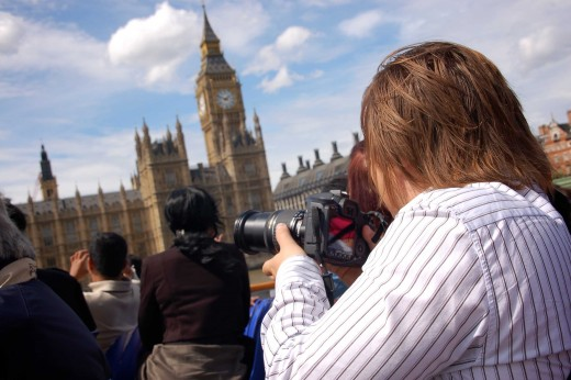 Photographing Big Ben is not as easy as it might seem!