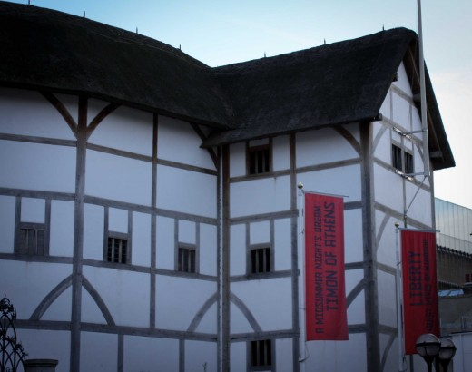 Shakespeare's Globe Theatre is the only thatched roof building allowed in modern London...