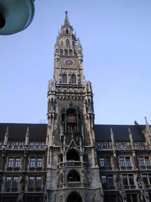 The Rathaus - Glockspiel Clock Tower