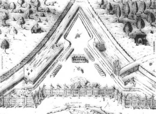 Fort Caroline, Founded on June 22, 1564