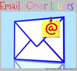 Email cover letters