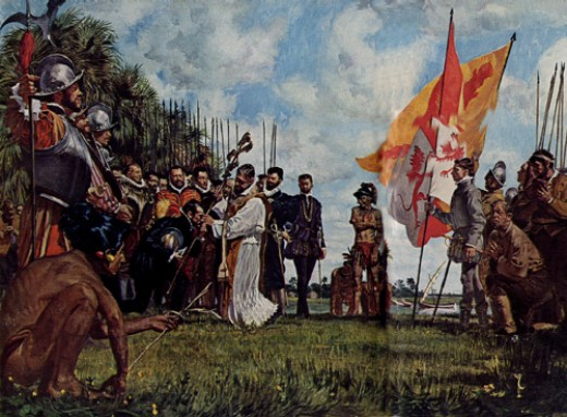 The First Thanksgiving on American soil was on September 9th, 1565