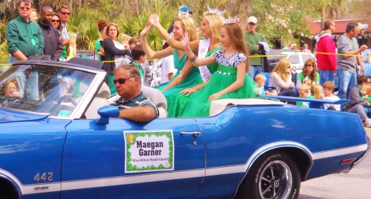 Three beautiful reasons to celebrate spring break on Hilton Head Island by watching the St. Patrick's Day Parade.