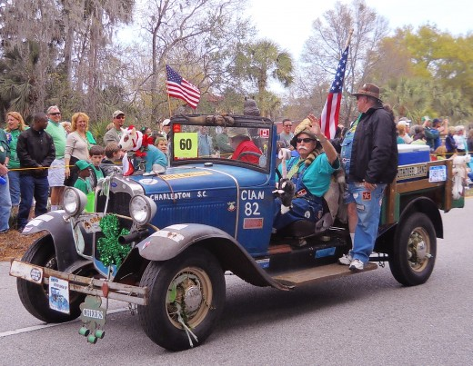 SC Hillbilly Clan 82 had several Hillbilly vehicles that pleased the crowd.