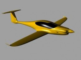 Another reminder of Pipistrel's creative juices is the picture of their