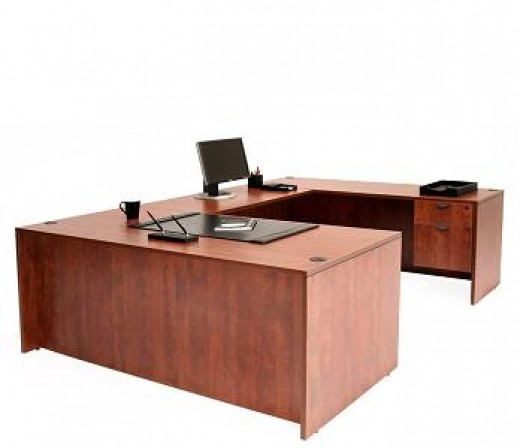 U Shaped Desk example