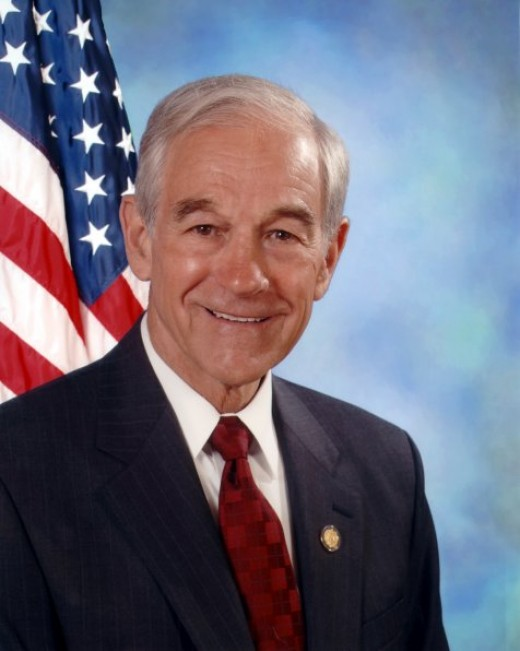 Voting in America: Congressional portrait of Dr. Ron Paul (R) Texas.
