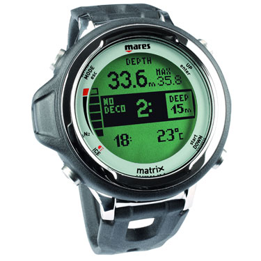Dive watch - measure your time and depth underwater.