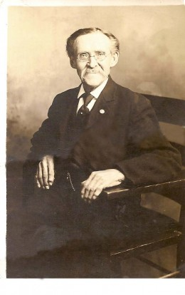 My husband's great uncle.