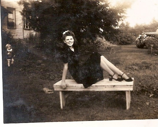 My mother-in-law during WWII