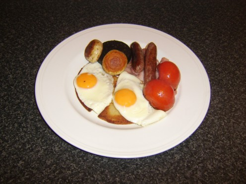 An Ulster fry is Northern Ireland's version of an English fried breakfast