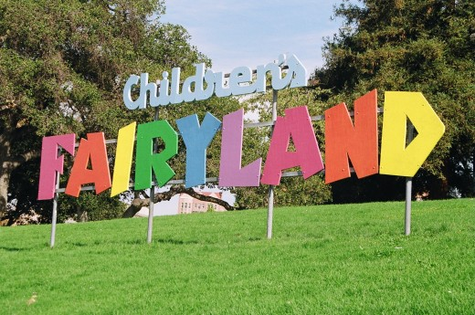 Unlimited rides on the Jolly Trolley are free with admission at Children's Fairyland in Oakland