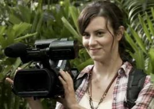 Katie Featherston as Rosetta Fischer, aka Rabbit.