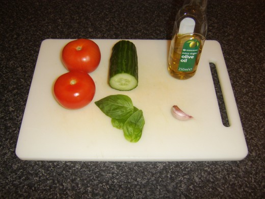 Simple salsa ingredients