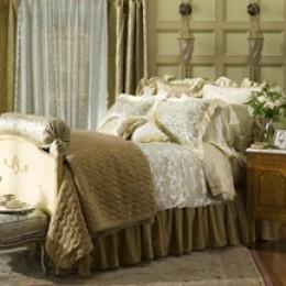 Bella Notte Linens make a comfortable Bedroom